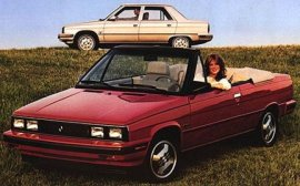 1985 Renault Alliance Convertible