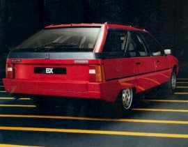 1986 Citroen BX Break