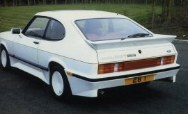 1986 Ford Capri Tickford