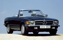 1986 Mercedes Benz 500-Series 500SL