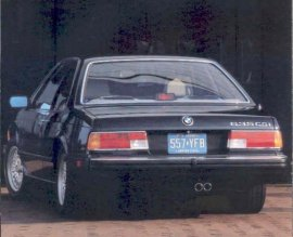 1987 BMW 6-Series 635CSi