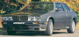 1987 Maserati Biturbo With Zender Kit
