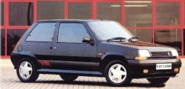 1988 Renault 5 GT Turbo