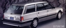 1989 Peugeot 505 Turbo SW8 Wagon