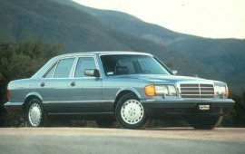 1991 Mercedes Benz 350SD Turbo