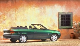 1997 Vauxhall Astra Convertible