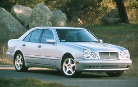 1998 Mercedes Benz E-Class E430 Sedan