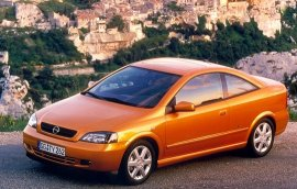 2000 Opel Astra Coupe