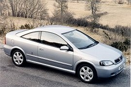 2000 Vauxhall Astra Coupe