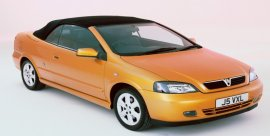 2001 Vauxhall Astra Convertible