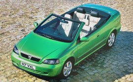 2001 Vauxhall Coupe Convertible