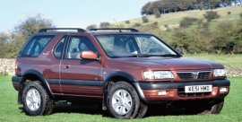 2001 Vauxhall Frontera Sport RS