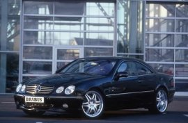 2002 Mercedes Benz CL-Class Brabus Tuned