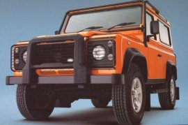 2003 Land Rover Defender 90 G4 Limited