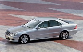 2003 Mercedes Benz S-Class S55 Sedan by AMG