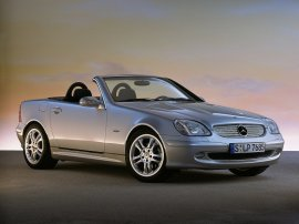 2003 Mercedes Benz SLK-Class SLK230 Final Edition