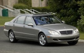 2004 Mercedes Benz S-Class S430 Sedan