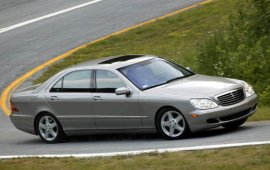 2004 Mercedes Benz S-Class S500 Sedan