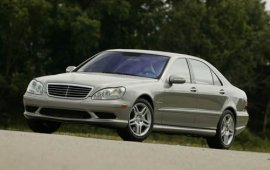 2004 Mercedes Benz S-Class S55 Sedan by AMG