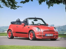 2004 Mini Cooper Convertible tuned by AC Schnitzer