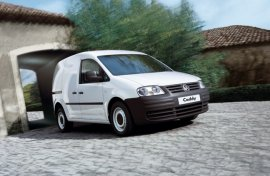 2007 Volkswagen Caddy UK Version