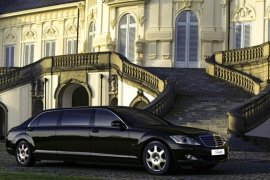 2008 Mercedes Benz 600-Series S600 Guard Pullman
