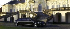 2008 Mercedes Benz S-Class S600 Guard Pullman
