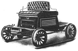 1901 Oldsmobile Railroad Model