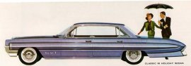 1961 Oldsmobile Classic 98 Holiday 4 Door