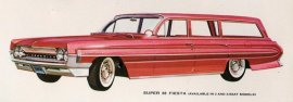 1961 Oldsmobile Super 88 Fiesta Station Wagon