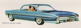 1961 Oldsmobile Super 88 Holiday 2 Door