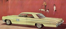 1962 Oldsmobile 98 Holiday Sport 2 Door