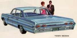 1962 Oldsmobile 98 Town 4 Door