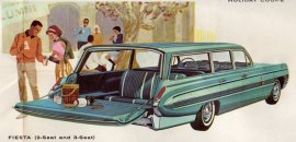 1962 Oldmobile Dynamic 88 Fiesta Station Wagon