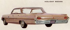 1962 Oldmobile Dynamic 88 Holiday 4 Door