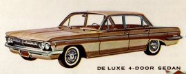 1962 Oldmobile DeLuxe 4 Door