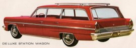 1963 Oldsmobile F-85 Deluxe Station Wagon