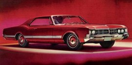 1966 Oldsmobile Starfire 98 Holiday 2 Door