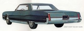 1967 Oldsmobile 98 Holiday 2 Door