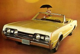 1967 Oldsmobile Cutlass Convertible (6 and V8)