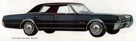 1967 Oldsmobile Cutlass Holiday 4 Door (6 and V8)