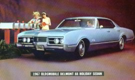 1967 Oldsmobile Delmont 88 Holiday 4 Door (330/425)