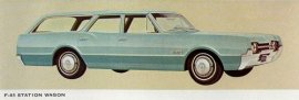 1967 Oldsmobile F-85 2 Seat Station Wagon (6 and V8)