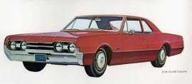 1967 Oldsmobile F-85 Club 2 Door (6 and V8)
