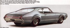 1969 Oldsmobile 442 Sports 2 Door