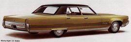 1969 Oldsmobile 98 Luxury 4 Door
