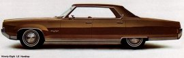 1969 Oldsmobile 98 Luxury Hardtop 4 Door