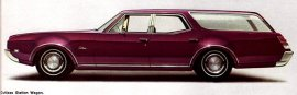 1969 Oldsmobile Cutlass 2 Seat Station Wagon
