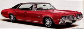 1969 Oldsmobile Cutlass Holiday 4 Door (6 and V8)