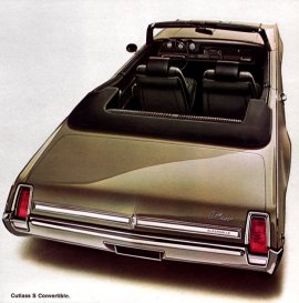 1969 Oldsmobile Cutlass S Convertible (6 and V8)